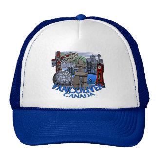 Vancouver BC Caps Souvenir Trucker Caps & Hats