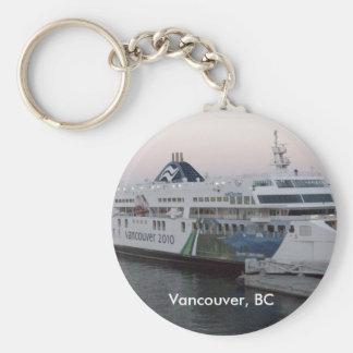 Vancouver, BC ferry souvenir keychain