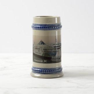 Vancouver, BC ferry souvenir stein Mugs
