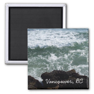 Vancouver, BC Fridge Magnet