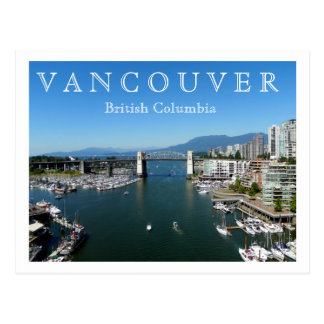 Vancouver BC Post Cards