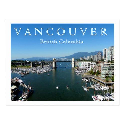 Vancouver BC Postcard