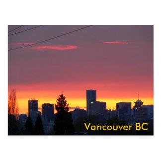 Vancouver BC Postcards