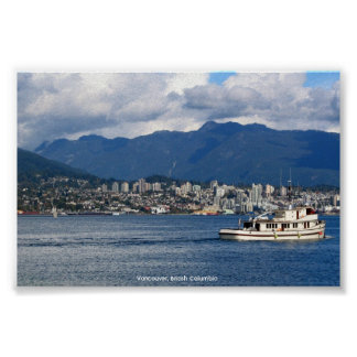 Vancouver, BC Print