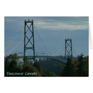 Vancouver BC Souvenir Cards Landmark Cards Custom