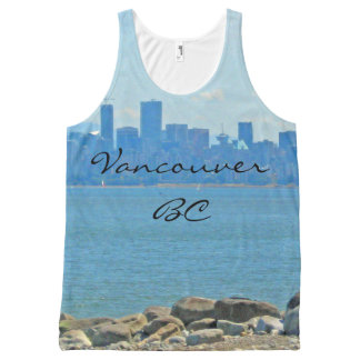 Vancouver, BC Tank Top All-Over Print Tank Top