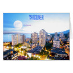Vancouver, BC - vintage style Greeting Cards