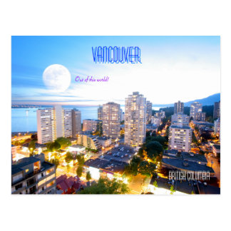 Vancouver BC - vintage style Post Card