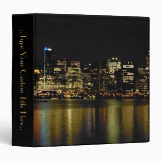 Vancouver Binder Custom Cityscape Book Binder