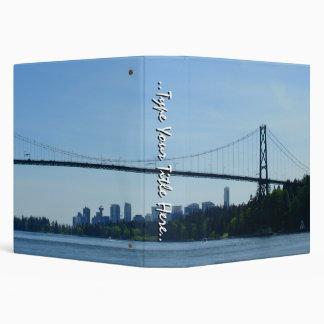 Vancouver Binder Custom Lions Gate Book Binder