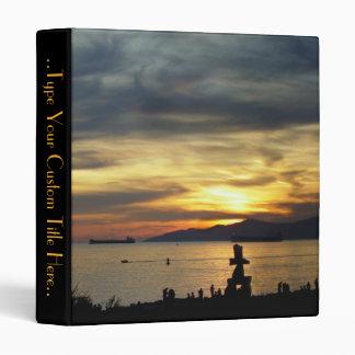Vancouver Binder Custom Sunset Book Binder