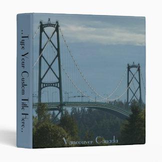 Vancouver Binder Lions Gate Custom Book Binder