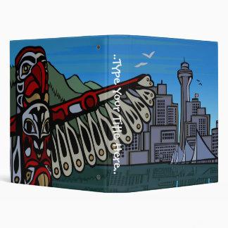 Vancouver Binder Personalized Vancouver Art Binder