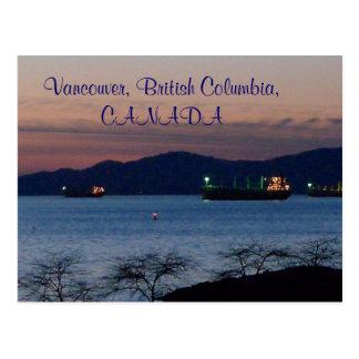 Vancouver, British Columbia, CANADA Post Card