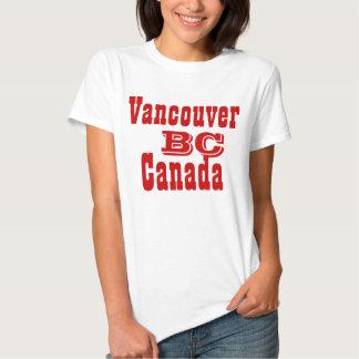 Vancouver british columbia Canada Shirt