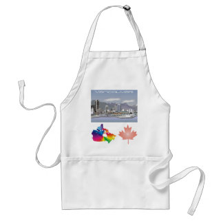 Vancouver Canada Adult Apron
