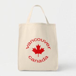 Vancouver Canadá Bolsa Tela Para La Compra