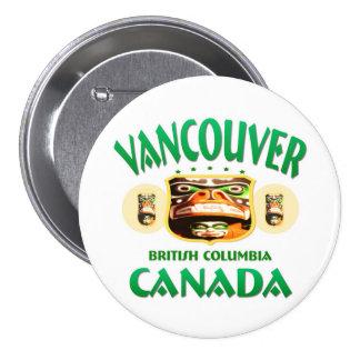 Vancouver Canada Button