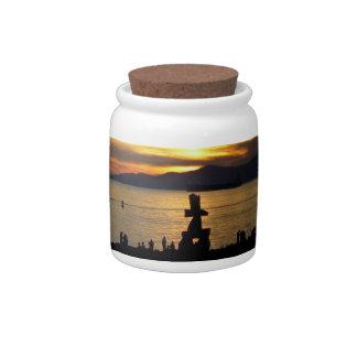 Vancouver Canada Candy Jar