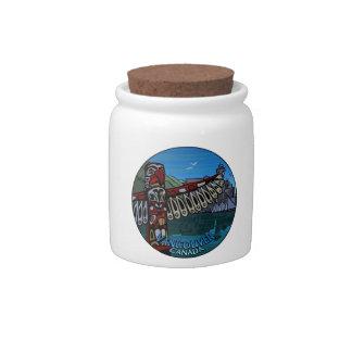 Vancouver Canada Candy Jar Vancouver Souvenirs