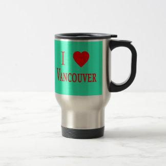 Vancouver Canada I Love Vancouver Mug