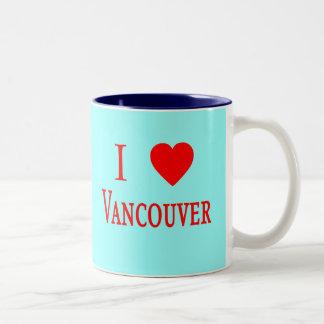 Vancouver Canada I Love Vancouver Coffee Mugs