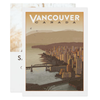 Vancouver Canada | Save the Date - Photo Card