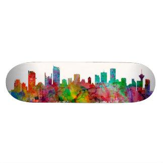 Vancouver Canada Skyline Skate Decks