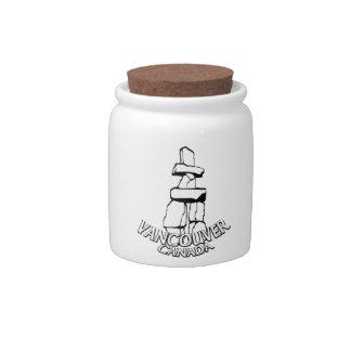 Vancouver Canada Souvenir Candy Jar