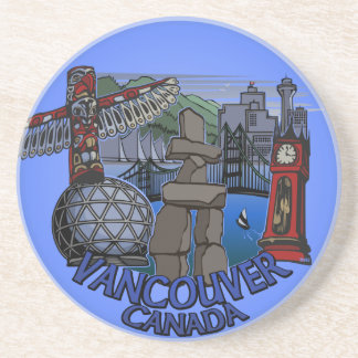 Vancouver Canada Souvenir Coaster Landmark Gifts