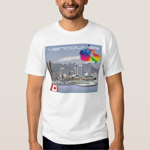 Vancouver canada t shirt zazzle for Vancouver t shirt printing