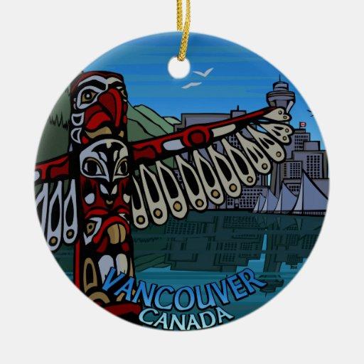 Christmas Decorations Store Vancouver: Vancouver Canada Totem Pole Ornament Souvenirs