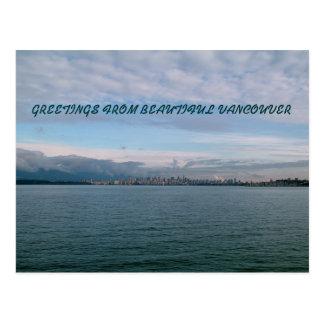 Vancouver Cityline Tarjeta Postal