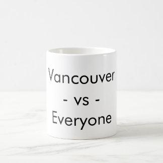 Vancouver contra cada uno - taza
