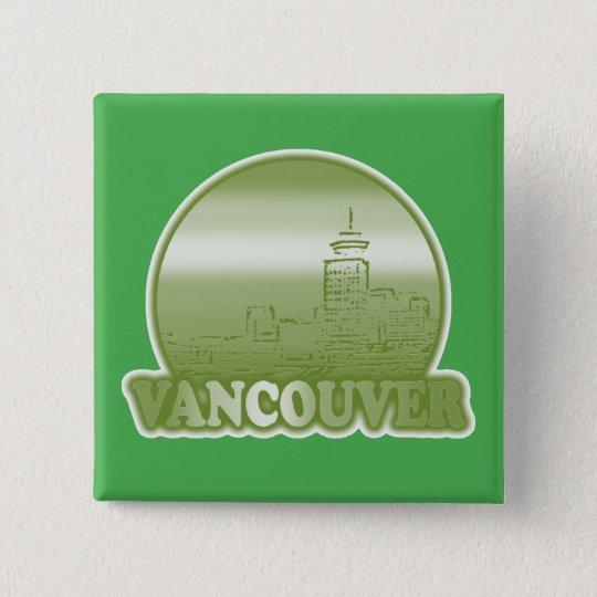 Vancouver Green Sun Button