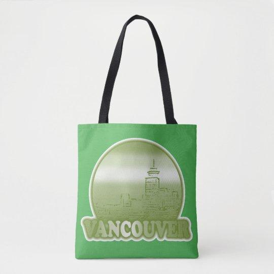 Vancouver Green Sun Tote Bag