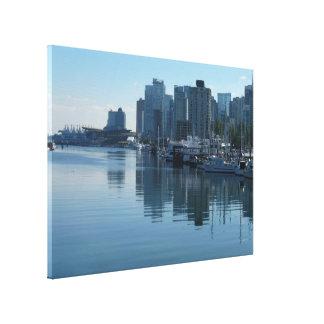 Vancouver Harbour Art Print Seascape Art Canvas
