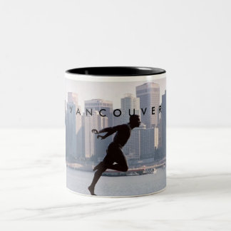 Vancouver - Harry Jerome Statue Two-Tone Coffee Mug