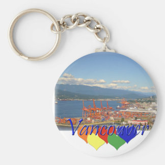 Vancouver Hearts Keychain