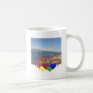 Vancouver Hearts Coffee Mugs
