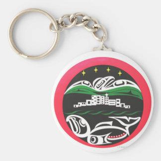 Vancouver Horizon Keychain