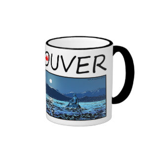 Vancouver Illustration - Girl in wetsuit Coffee Mug