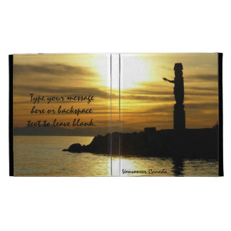 Vancouver iPad Case Personalized Vancouver Gift