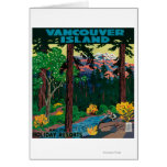 Vancouver Island Advertising Poster Cards
