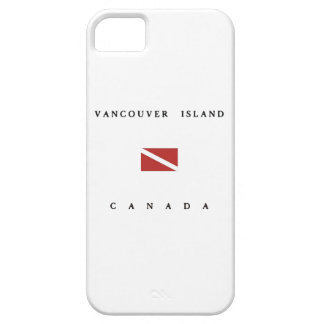 Vancouver Island Canada Scuba Dive Flag iPhone SE/5/5s Case