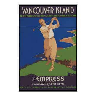 Vancouver Island Golf every day of the year Posters