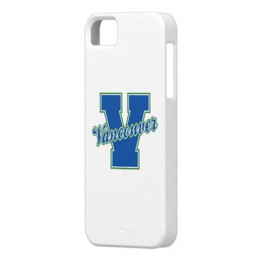 Vancouver Letter iPhone 5 Cover