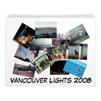 Vancouver Lights 2008 Calendar