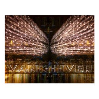 Vancouver Lightshow Postcard