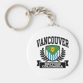 Vancouver Llavero Redondo Tipo Pin